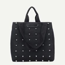 Studded Detail Tote Bag bag180608318