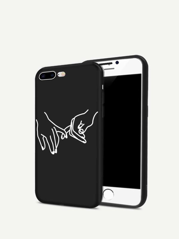 3ef280f8c8 Cheap Hands Print iPhone Case for sale Australia | SHEIN
