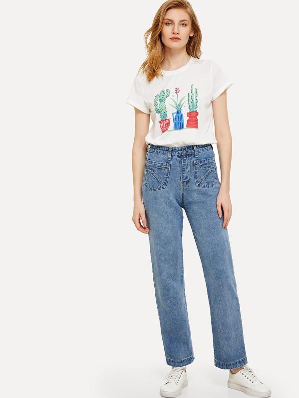 18733235c7 Cheap High Waist Wide Leg Jeans for sale Australia | SHEIN