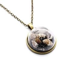 Shell Pendant Long Necklace