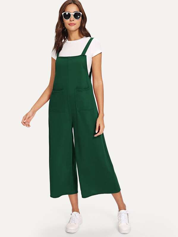 e5545d0d2abb Dual Pocket Front Pinafore Jumpsuit