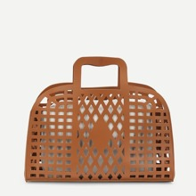 Cut Out Tote Bag With Inner Pouch bag180608619