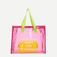 PVC Tote Bag With Inner Pouch bag180619601