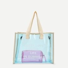 PVC Tote Bag With Inner Pouch bag180619602