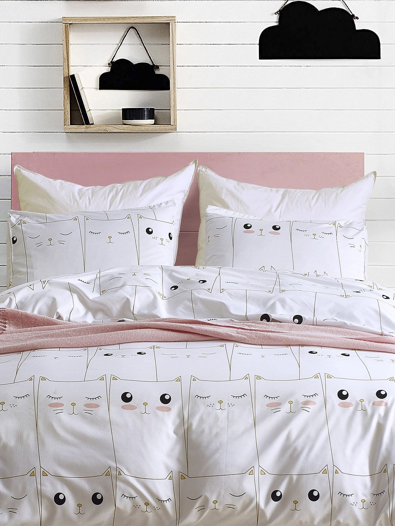 Cat Print Sheet Set