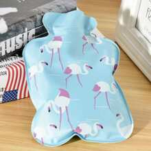 INOpets.com Anything for Pets Parents & Their Pets Flamingo Print Hot-water Bag