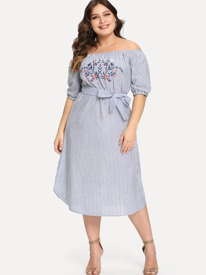 6e0df6db666aa Plus Size Dresses   Plus Size Dresses Sale Online   ROMWE