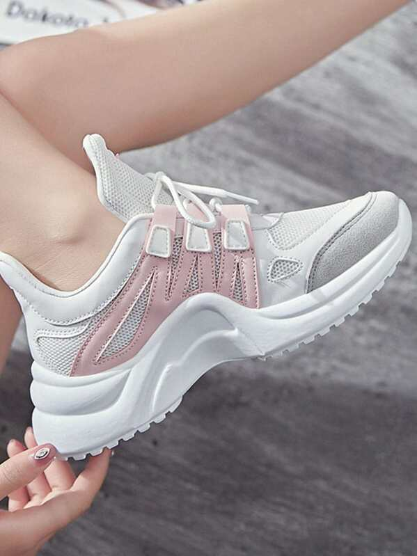 c3957b822 حذاء رياضي متعدد الألوان | شي إن