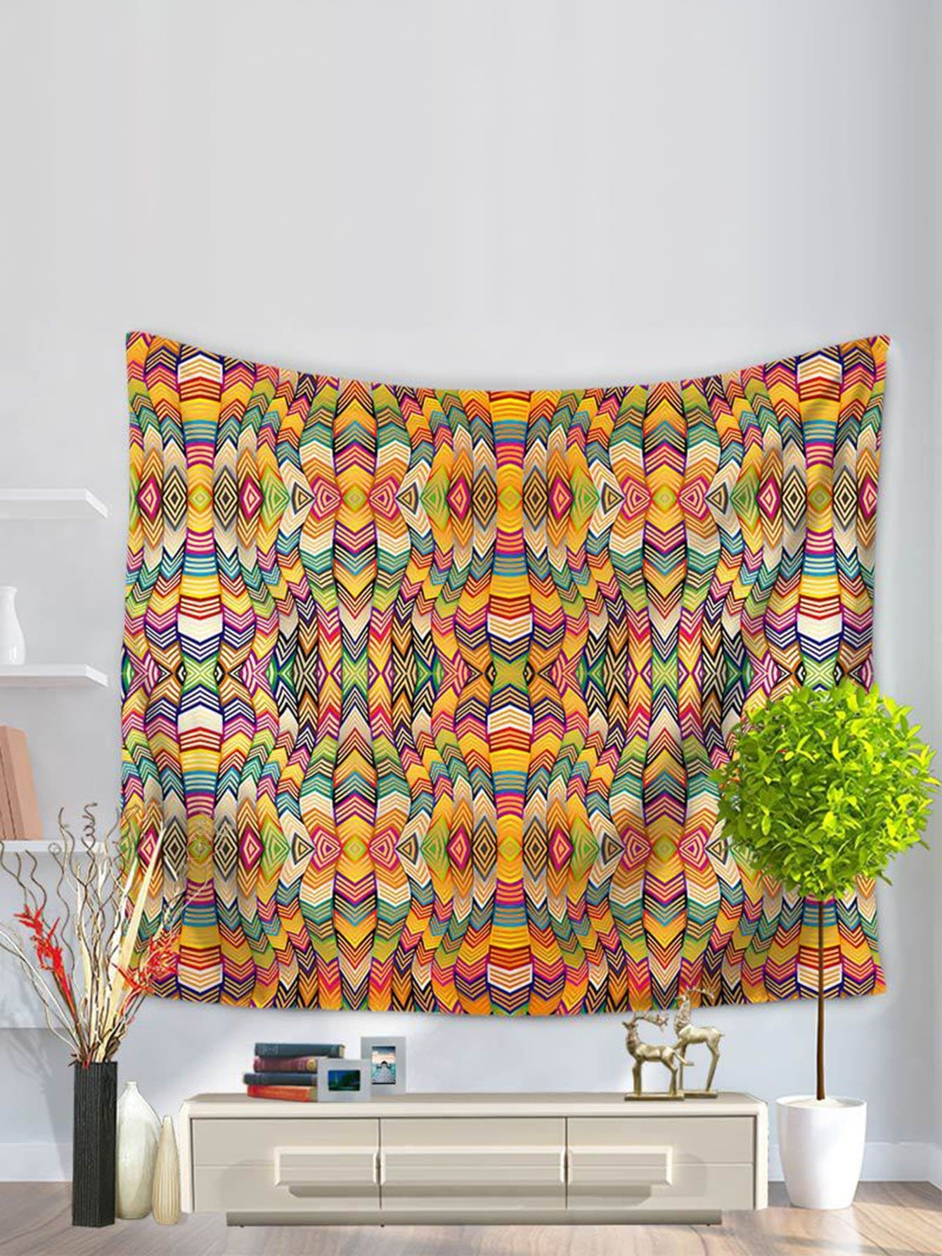 Abstract Pattern Tapestry