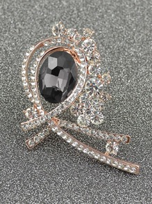 Crystal Embellished Brooch