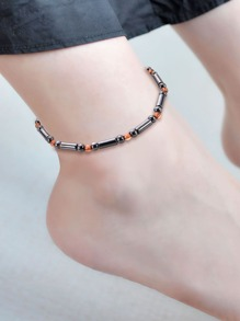 Two Tone Magnet Anklet