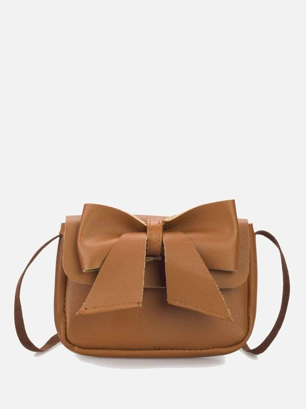 Bow Decor Mini Shoulder Bag