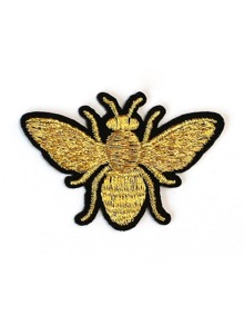 Bee Shaped Sticky Embroidery Patch