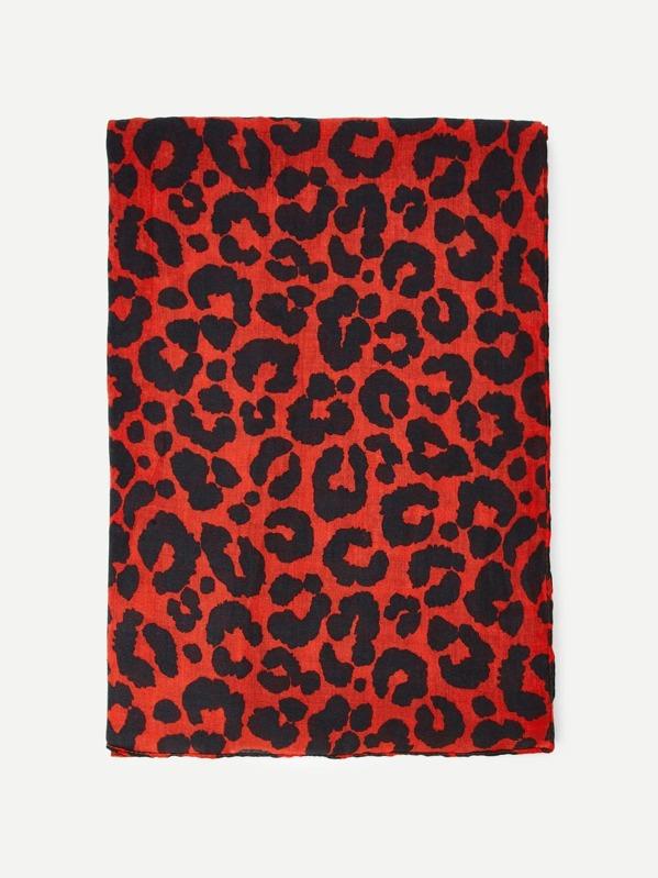 826357c9e5 Leopard Print Scarf | SHEIN UK