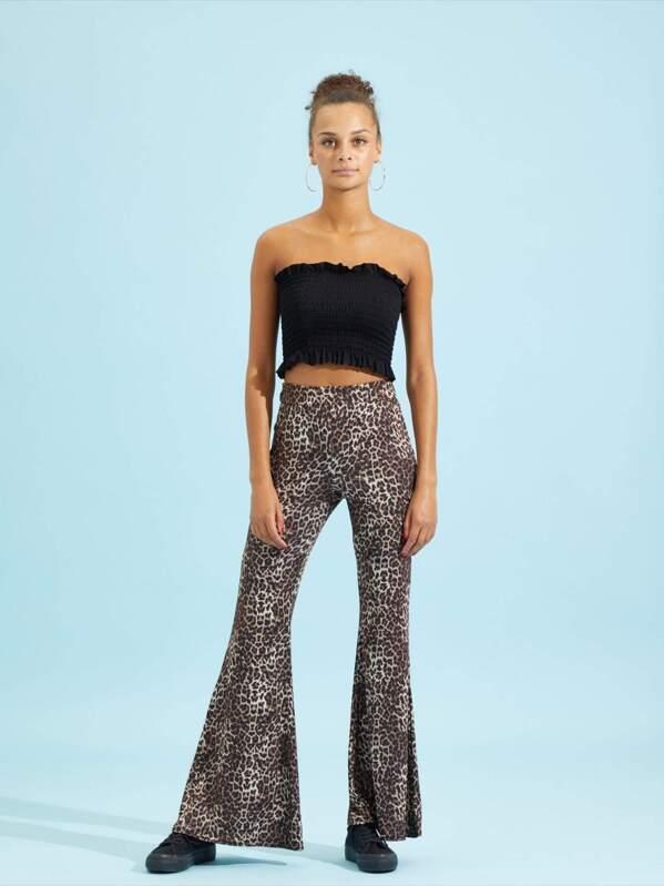 f7704dbdcfff Leopard Print Pants | SHEIN UK