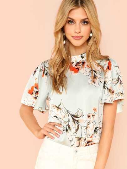 8ed666fbd3 Women's Blouses, Shirts & Dressy Tops | SHEIN