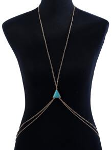 Triangle Detail Layered Body Chain