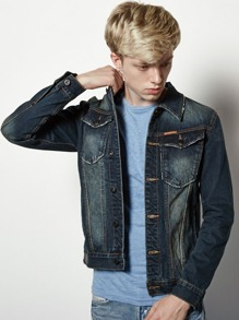 Men Trucker Denim Jacket