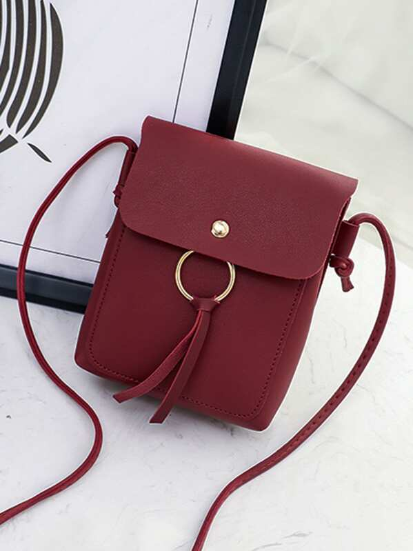 61648b918 Cheap Metal Ring Flap Crossbody Bag for sale Australia | SHEIN