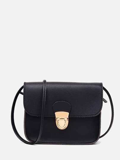 Push Lock Satchel bag