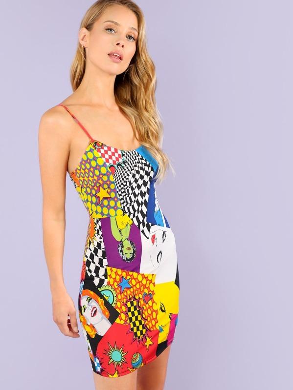 df6121cee4 Cheap Magazine Graphic Print Mini Dress for sale Australia