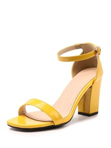 Two Part Ankle Strap Sandals