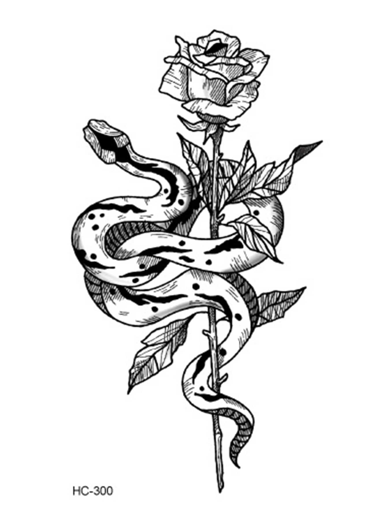 Schlange Tattoo