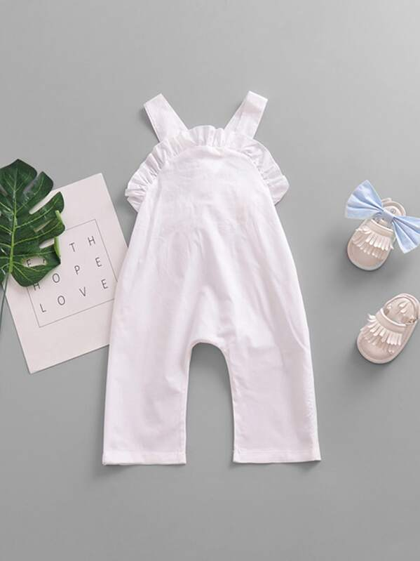 promo code quality and quantity assured sale uk Toddler Girls Ruffle Knot Back Plain Romper
