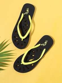 Laser Cutting Sole Flip Flops