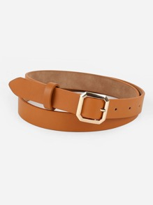 Polygon Buckle Belt