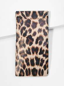 Leopard Glasses Bag
