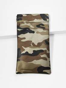 Camouflage Glasses Bag