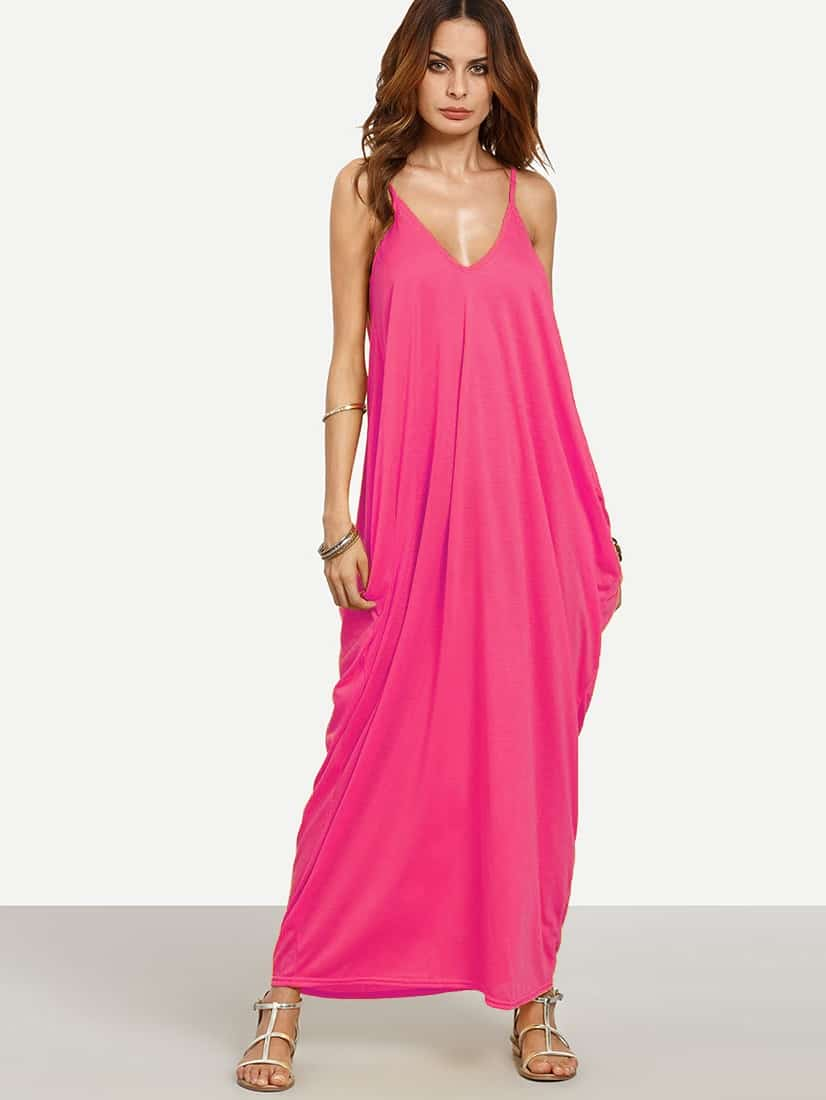 V-neckline Cocoon Cami Dress V-neckline Cocoon Cami Dress