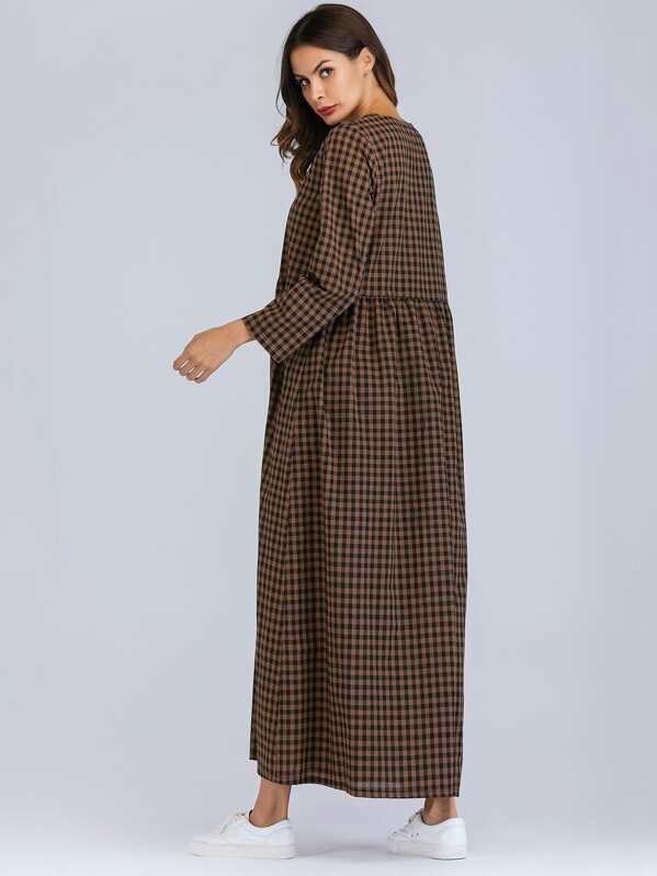 e8c479faf57d8 فستان بأكمام طويلة