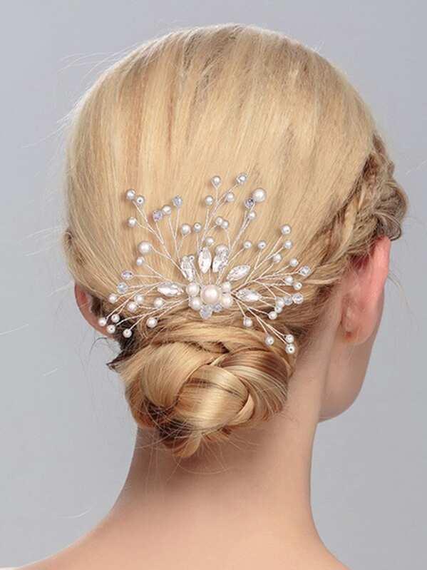 f1d94a140c Cheap Faux Pearl Decorated Hair Pin for sale Australia | SHEIN