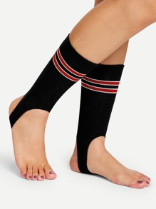 Striped Stirrup Socks