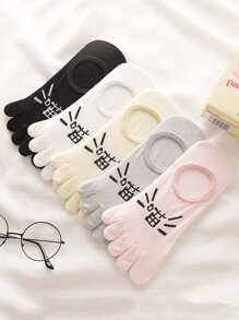 Invisible Toe Socks 5pairs