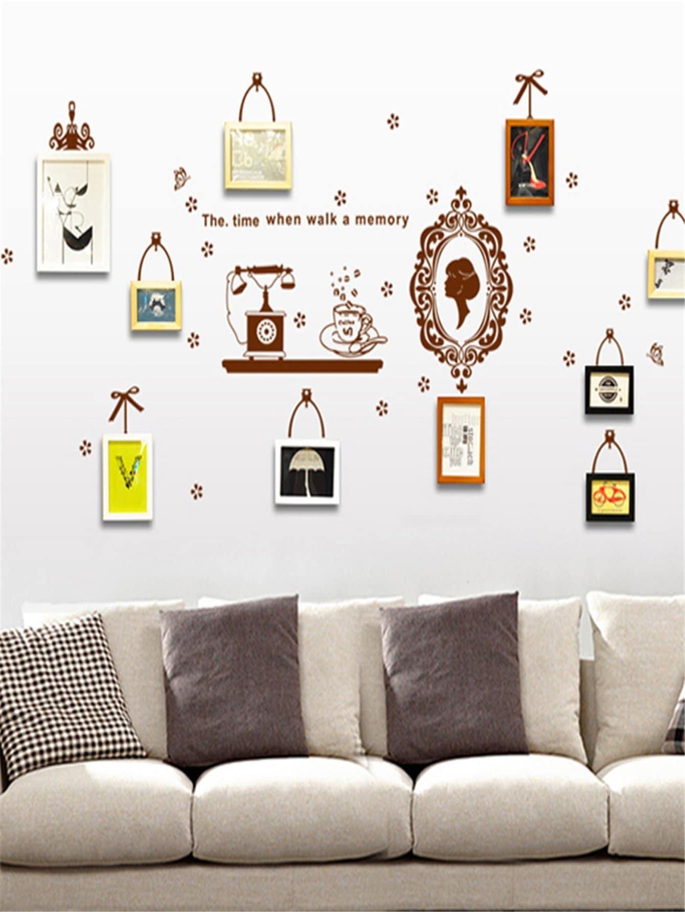 Figure & Letter Wall Sticker