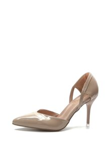 Pointed Toe Patent Leather Heels