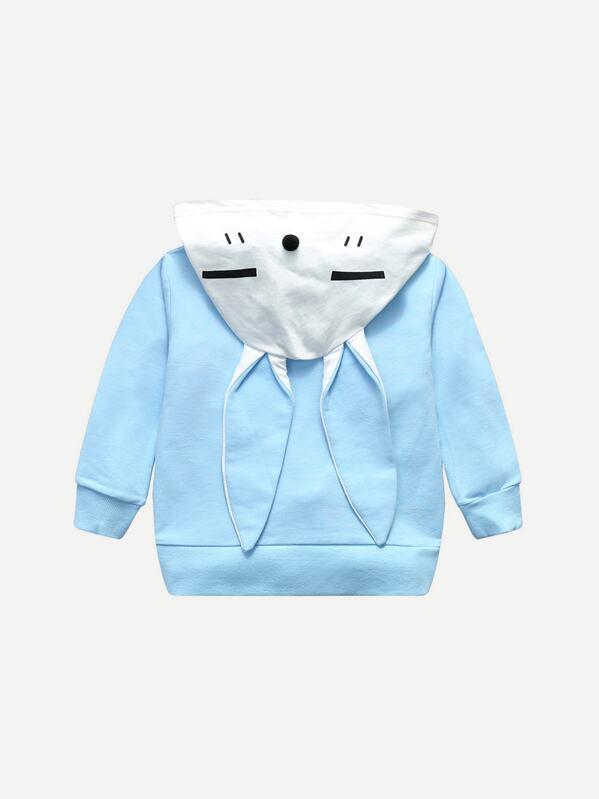 online store 708cf 896b8 Pom Pom Спортивная футболка с рисунками мультипликаций для девочки   SHEIN