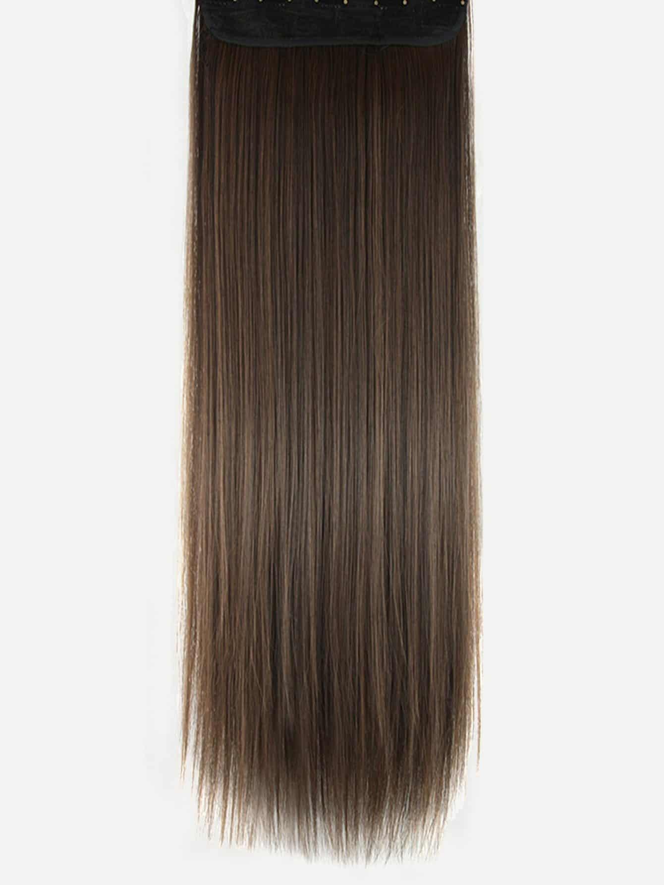 Straight Hair Extension 1pcsfor Women Romwe