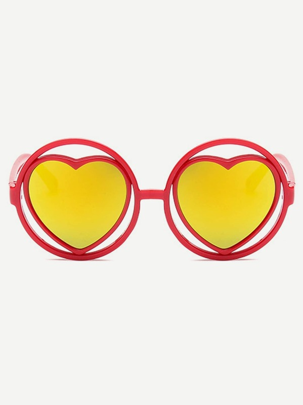 ca9d55b38 الحلو الأناقة الأحمر نظارات شمسية للأطفال | شي إن