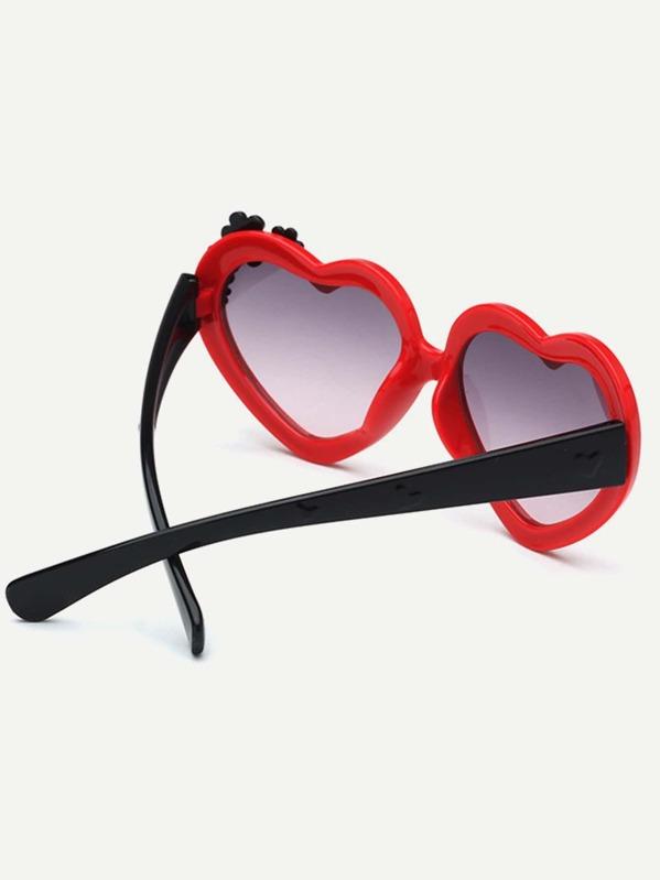 501180db6 غير الرسمي الأناقة الأحمر نظارات شمسية للأطفال | شي إن