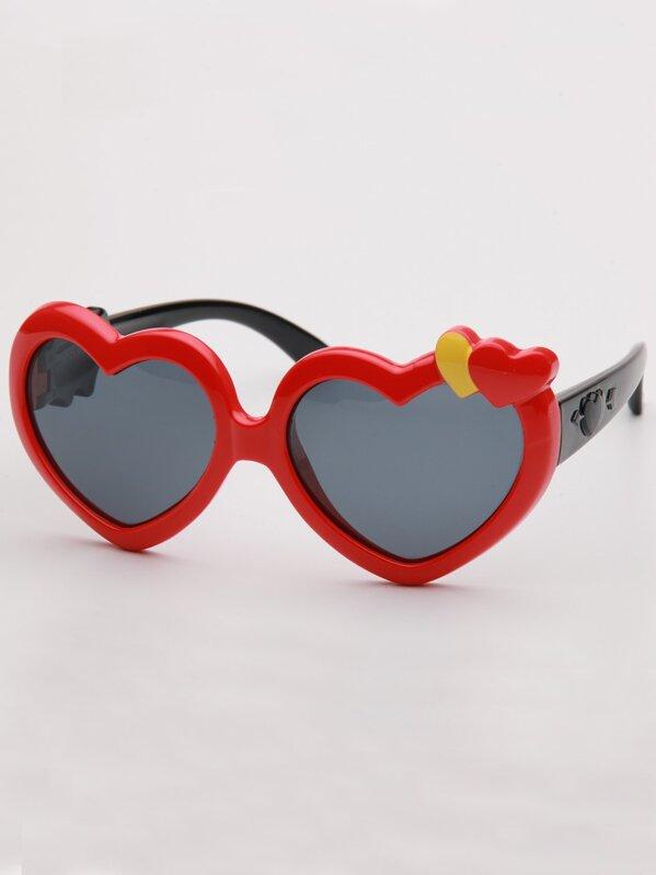 502956cc6 غير الرسمي الأحمر نظارات شمسية للأطفال | شي إن