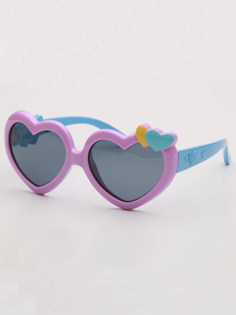 mayor selección de venta de bajo precio gran ajuste Gafas de sol de niñas de lentes en forma de corazón