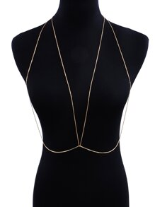 Simple Bralet Body Chain
