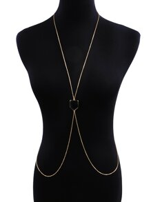 Geometric Decorated Body Chain