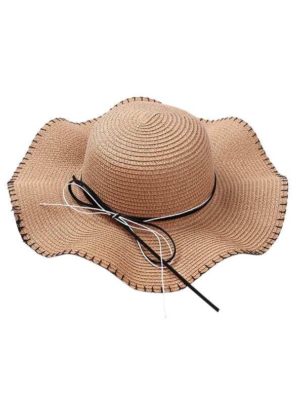 85db9dd4c3103 Cheap Girls Bow Tie Band Straw Hat for sale Australia | SHEIN