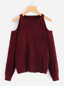 Open Shoulder Knot Jumper