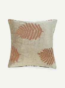 Leaf Design Pillowcase